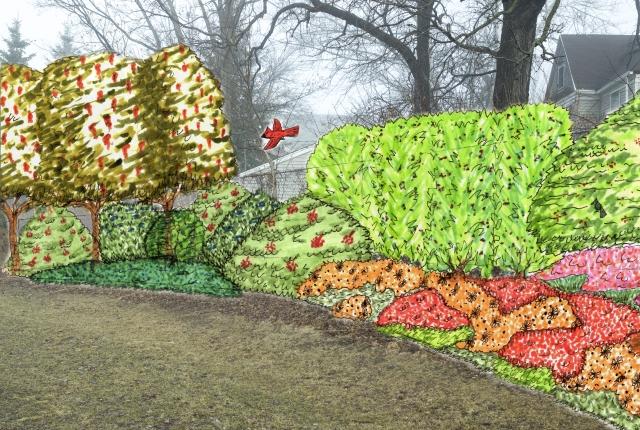 H. Garden Perspective Rendering (3)